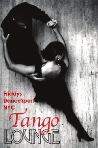 Tango Lounge Friday at DanceSport