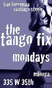 Tango Fix Mondays at 335 W 35th St